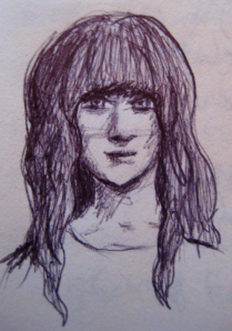 This one's more realistic than I think I'm going for. And a little too Zooey Deschanel.