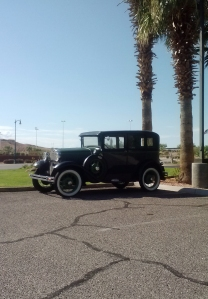 A really cool car we saw on the way. (In Mesquite, NV)